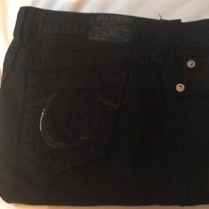 New black True religion jeans